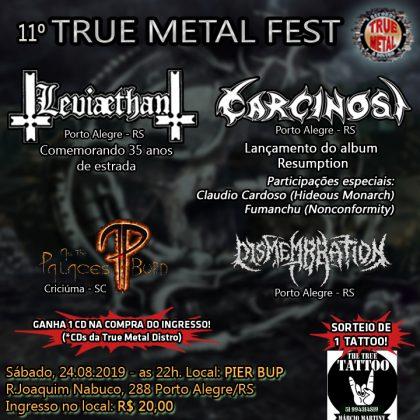 11° True Metal Fest – 35 anos da banda Leviaethan