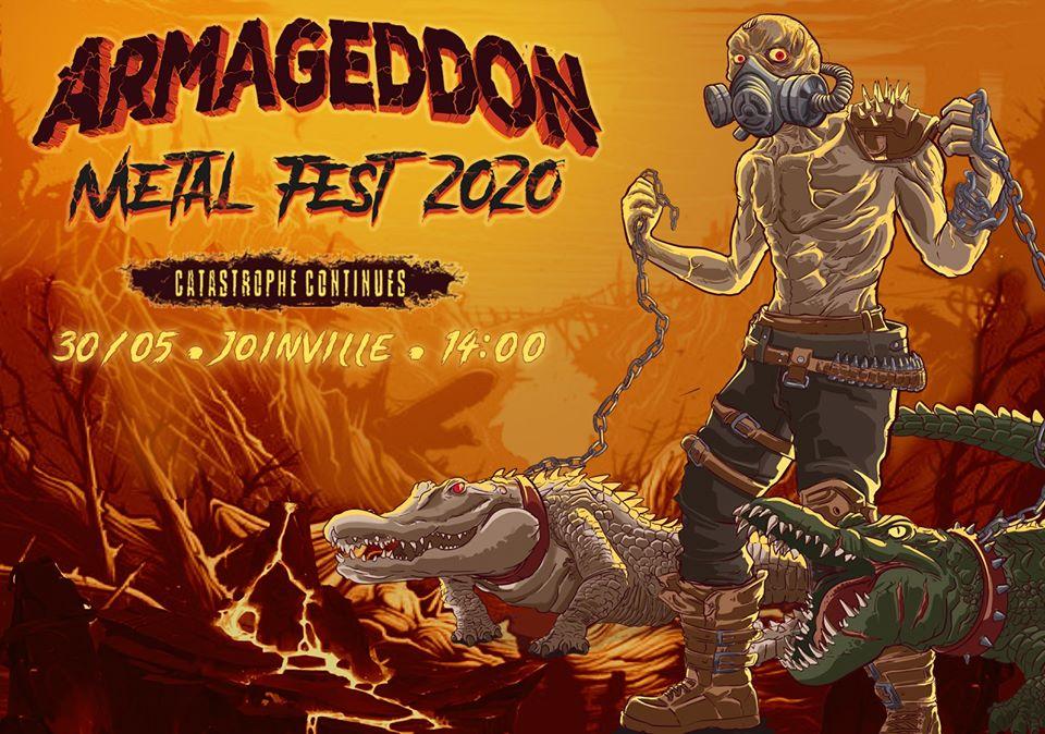 EXTERMINATE – CONFIRMADA NO ARMAGEDDON METAL FEST 2020